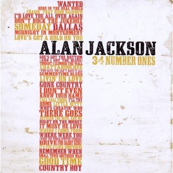 ALAN JACKSON - 34 NUMBER ONES (2 CD SET)