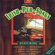 Dolphin Records,  20 FAVOURITE IRISH PUB SONGS, VOLUME 3 - VARIOUS ARTISTS