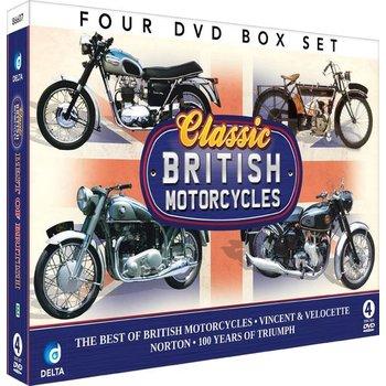CLASSIC BRITISH MOTORCYCLES - 4 DVD SET