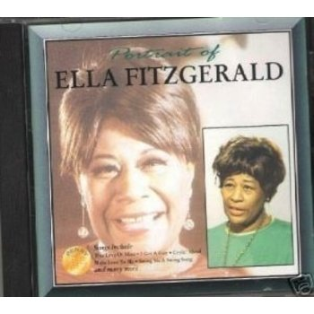 ELLA FITZGERALD - PORTRAIT OF