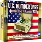 U.S. NUMBER ONES, JANUARY 1950 - DECEMBER 1955 - VARIOUS ARTISTS (3 CD SET).