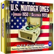 U.S. NUMBER ONES, JANUARY 1950 - DECEMBER 1955 - VARIOUS ARTISTS (3 CD SET)