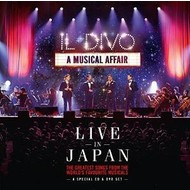 IL DIVO - A MUSICAL AFFAIR LIVE IN JAPAN (CD)