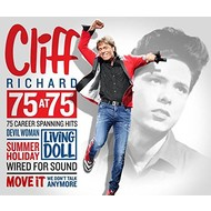 Rhino,  CLIFF RICHARD - 75 AT 75 (3 CD SET)