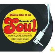 TELL IT LIKE IT IS  LEGENDS OF SOUL - VARIOUS ARTISTS (3 CD Set)