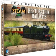 THE STEAM GALLERY PRESENTS - RESTORATION RAILWAYS (4 DVD BOX SET )