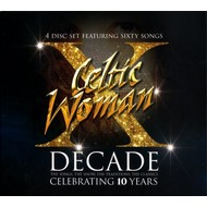 Celtic Collections,  CELTIC WOMAN - DECADE (4  CD SET)
