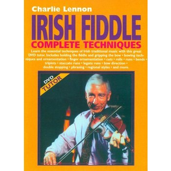 CHARLIE LENNON - IRISH FIDDLE COMPLETE TECHNIQUES (DVD)