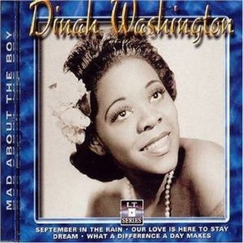DINAH WASHINGTON MAD ABOUT THE BOY
