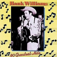 HANK WILLIAMS - 40 GREATEST HITS (2 CD'S).