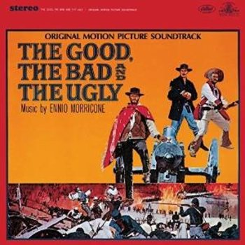 ENNIO MORRICONE - THE GOOD THE BAD AND THE UGLY  SOUNDTRACK - VINYL