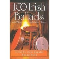 100 IRISH BALLADS WITH WORKS , MUSIC AND GUITAR CHORDS (BOOK)
