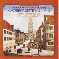 WOLFGANG AMADEUAS MOZART - KLAVIERKONZERTE K271-K453