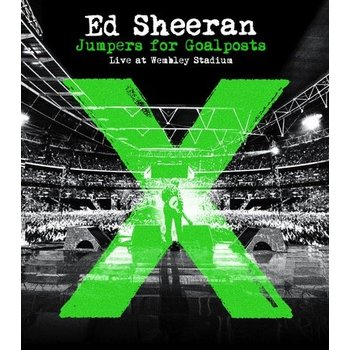 ED SHEERAN - JUMPERS FOR GOAL POSTS LIVE FROM WEMBLEY - BLU-RAY