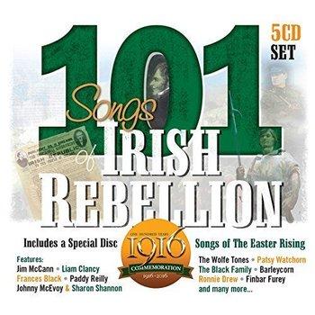 101 Songs Of Irish Rebellion - Various Artists (5 CD Set)