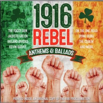 1916 REBEL ANTHEMS & BALLADS - Various Artists CD