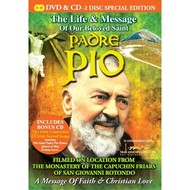 Platinum Music,  PADRE PIO - THE LIFE AND MESSAGE OF OUR BELOVED SAINT (DVD & CD Set)