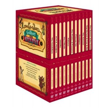 GILBERT AND SULLIVAN - 11 OPERAS BOX SET