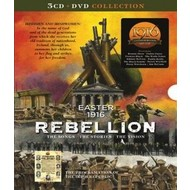 EASTER 1916 REBELLION: THE SONGS - THE STORIES - THE VISION (3 CD & 1 DVD Collection & poster of The Proclamation of The Irish Republic)