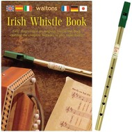IRISH TIN WHISTLE (D) PLUS INSTRUCTION BOOK (in 6 languages)