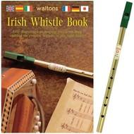 IRISH TIN WHISTLE (D) PLUS INSTRUCTION BOOK (in 6 languages)