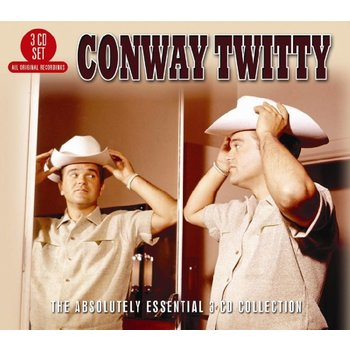 CONWAY TWITTY - THE ABSOLUTE ESSENTIAL 3 CD COLLECTION