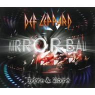 DEF LEPPARD - MIRRORBALL LIVE & MORE (2 CD/1 DVD Set)