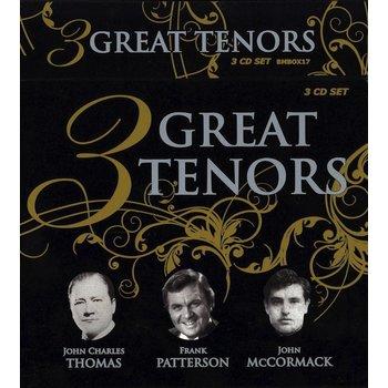 3 GREAT TENORS - JOHN CHARLES THOMAS, FRANK PATTERSON, JOHN MCCORMACK (CD)