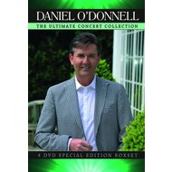 Rosette Records,  DANIEL O'DONNELL - THE ULTIMATE CONCERT DVD COLLECTION (4 DVD SET)