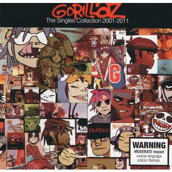 GORILLAZ - THE SINGLES COLLECTION 2001-2011 CD