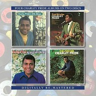 BGO Records,  Charley Pride - 10th Album / From Me To You / Sings Heart Songs / I'm Just Me