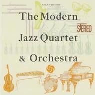 Atlantic Records,  THE MODERN JAZZ QUARTET & ORCHESTRA (Japanese Import CD)