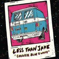 Imperial Records/Sleep It Off Records, LESS THAN JAKE - GOODBYE BLUE & WHITE (Japanese Import CD)