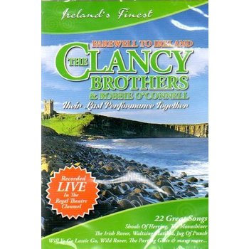 THE CLANCY BROTHERS & ROBBIE O'CONNELL - FAREWELL TO IRELAND DVD