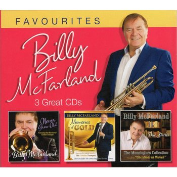 BILLY MCFARLAND - FAVOURITES (3 CD SET)