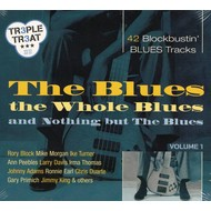THE BLUES, THE WHOLE BLUES AND NOTHING BUT THE BLUES - VARIOUS ARTISTS (CD)