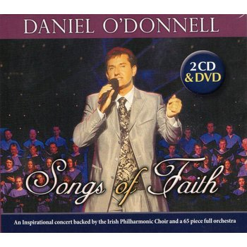 DANIEL O'DONNELL - SONGS OF FAITH (CD / DVD)