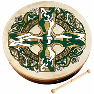 "WALTONS 12"" CELTIC CROSS BODHRAN"