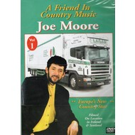 JOE MOORE - A FRIEND IN COUNTRY MUSIC (DVD)