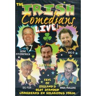 THE IRISH COMEDIANS - LIVE (DVD)