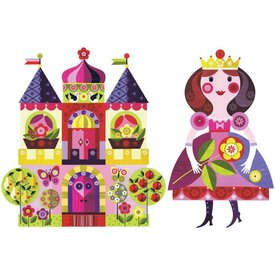 Chocovenyl Muurstickers Prinses & Kasteel