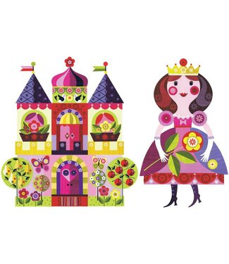 Chocovenyl Muurstickers Prinses & Kasteel