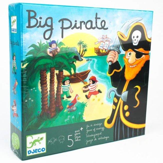 Djeco Spannend spel 'Big Pirate' 5+ | Djeco