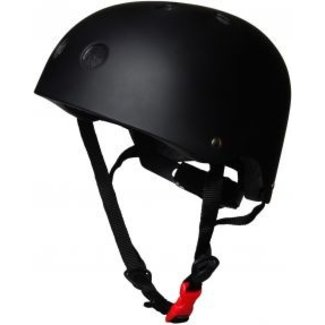 Kiddimoto Skate- & fietshelm 'matte black'   Kiddimoto