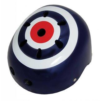 Kiddimoto Skate- & fietshelm 'target'   Kiddimoto