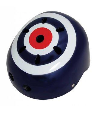 Kiddimoto Skate- & fietshelm 'target' | Kiddimoto