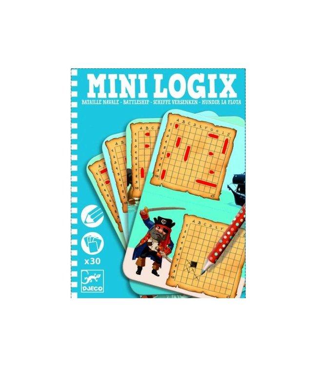 Djeco Mini Logix 'zeeslag' | Djeco