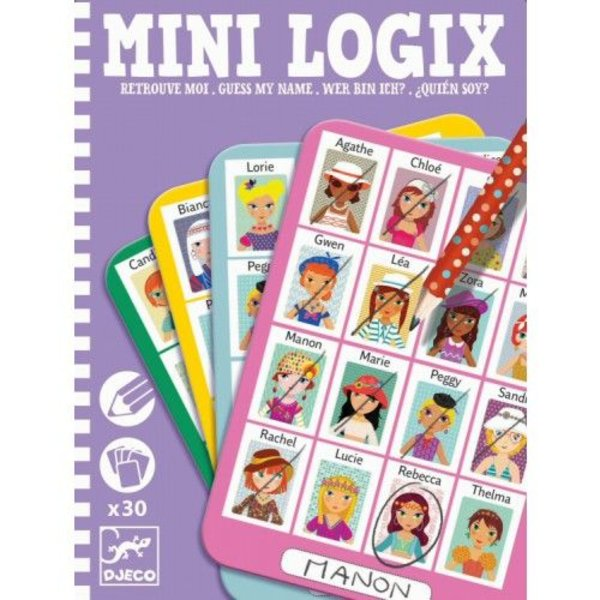 Djeco Mini Logix 'wie is het?' girls | Djeco