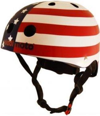 Kiddimoto Skate- & fietshelm US flag | Kiddimoto
