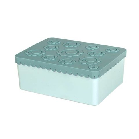 ***Toffe lunchbox HDPE blauw   Blafre